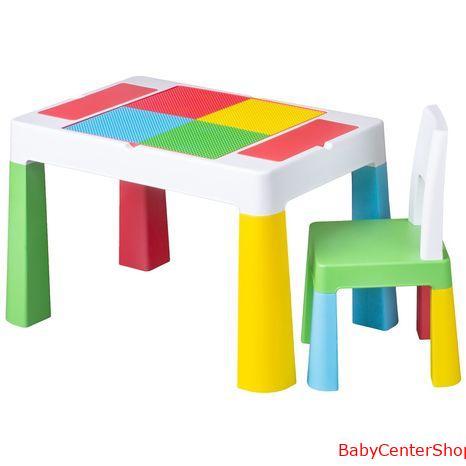 Tega Baby multifunkciós asztal+szék multicolor