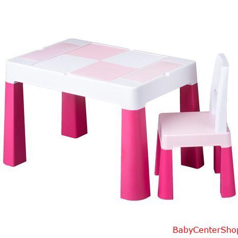 Tega Baby multifunkciós asztal+szék rózsaszín
