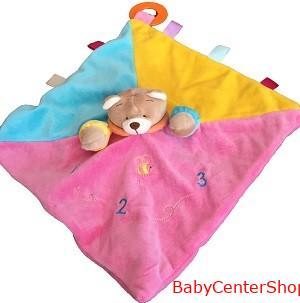 BabyBruin Plüss maci szundikendő rágókás 55043702