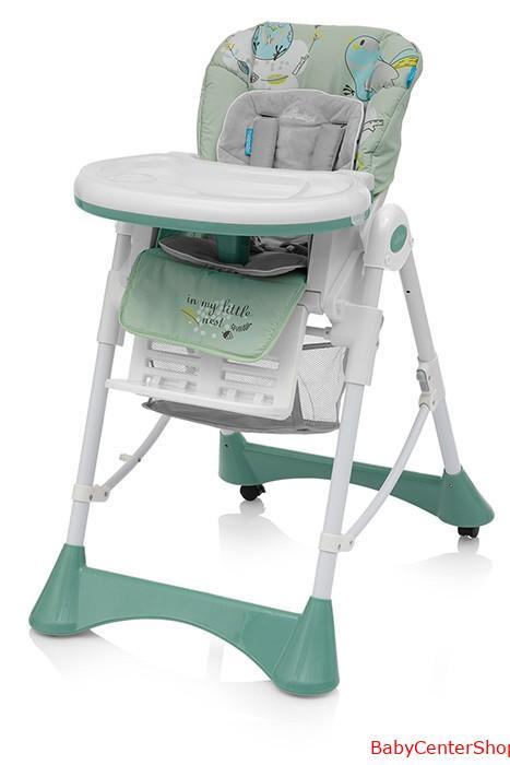 Baby Design Pepe multifunkciós etet?szék - 04 Green 2018