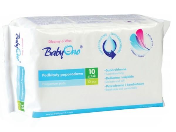 BabyOno szülés utáni betét 10db-os