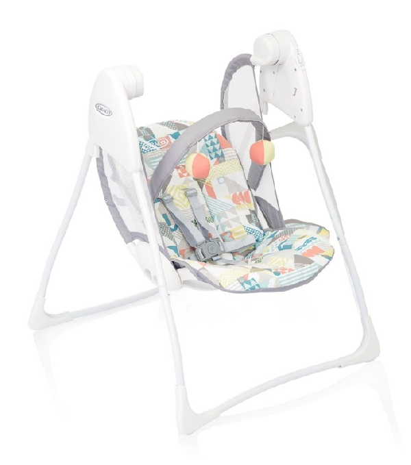 Graco elektromos hinta Baby Delight Patchwork